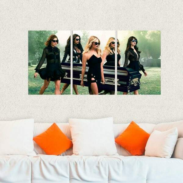 Kit 3 Placas Decorativas Pretty Little Liars 3