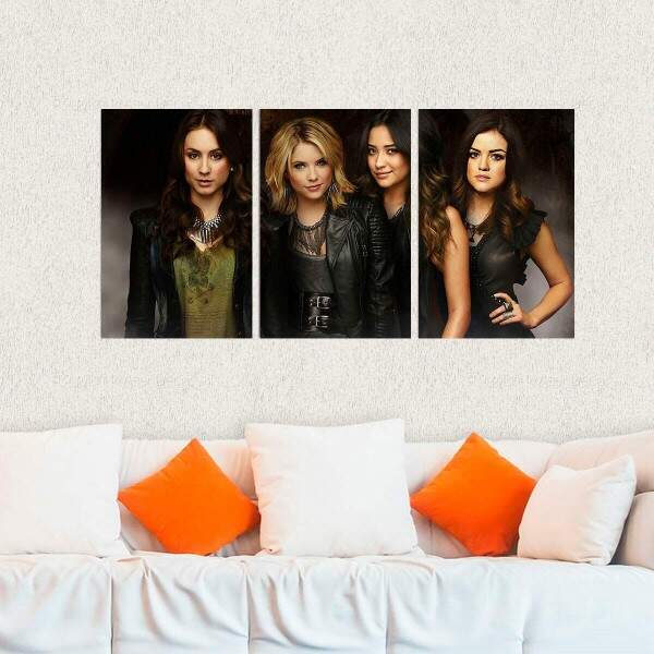 Kit 3 Placas Decorativas Pretty Little Liars 8