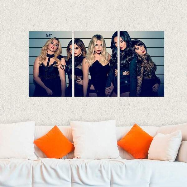 Kit 3 Placas Decorativas Pretty Little Liars 9