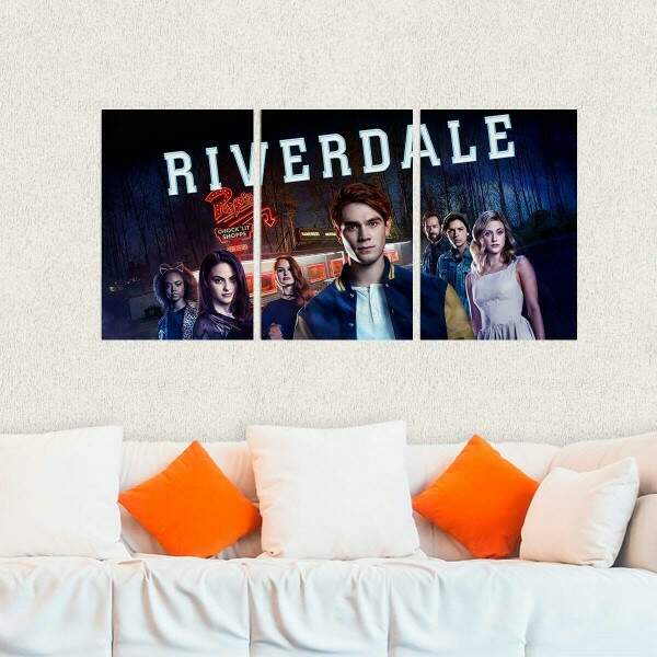 Kit 3 Placas Decorativas Riverdale 1