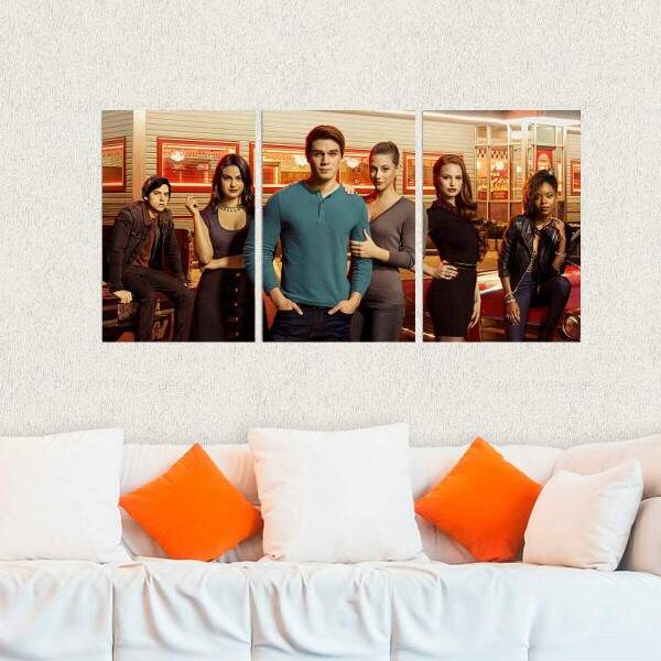 Kit 3 Placas Decorativas Riverdale 6