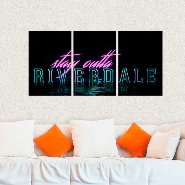 Kit 3 Placas Decorativas Riverdale 7