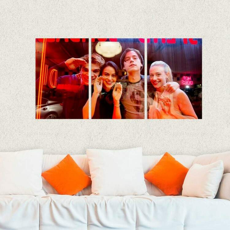 Kit 3 Placas Decorativas Riverdale 8