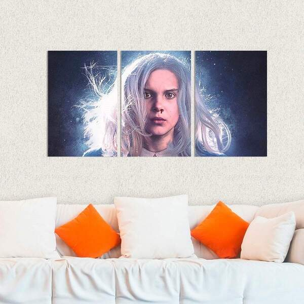 Kit 3 Placas Decorativas Stranger Things 5