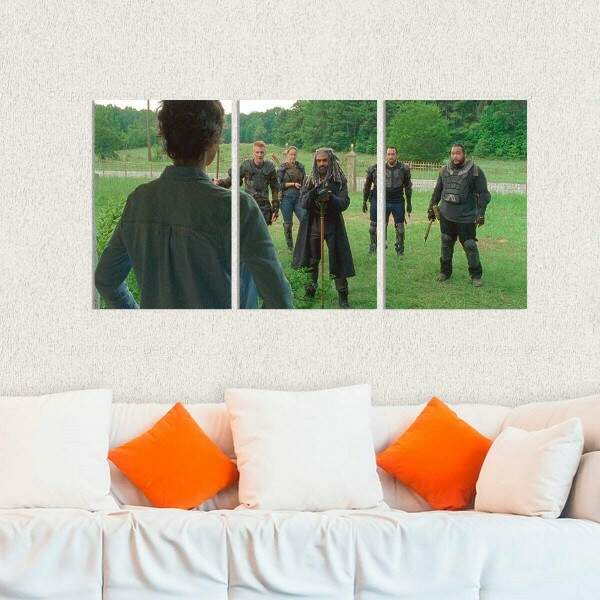 Kit 3 Placas Decorativas The Walking Dead 5