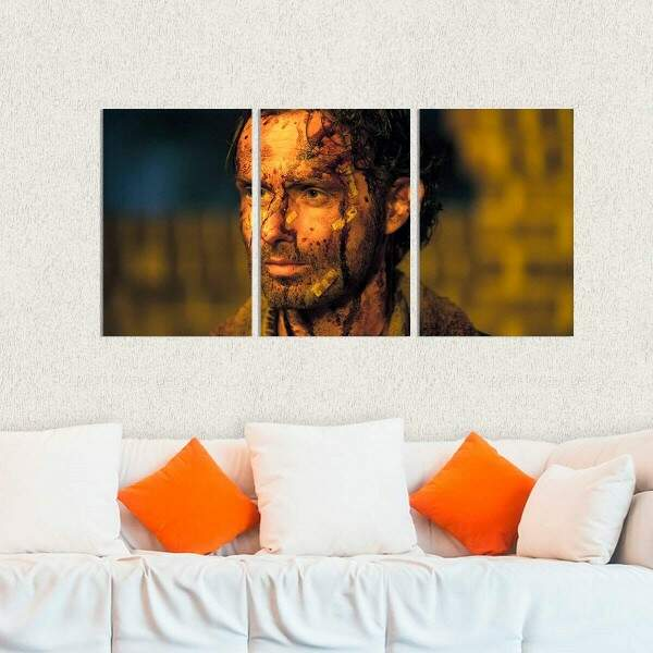 Kit 3 Placas Decorativas The Walking Dead 10