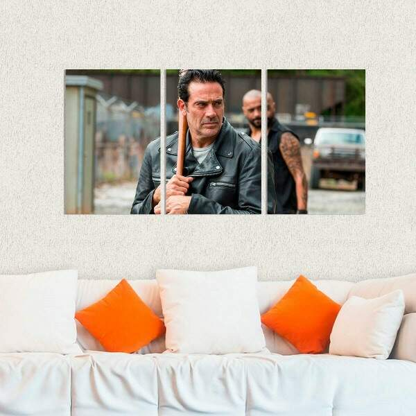 Kit 3 Placas Decorativas The Walking Dead 11