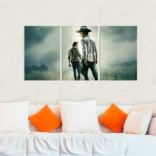 Kit 3 Placas Decorativas The Walking Dead 12