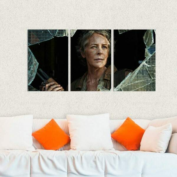 Kit 3 Placas Decorativas The Walking Dead 17