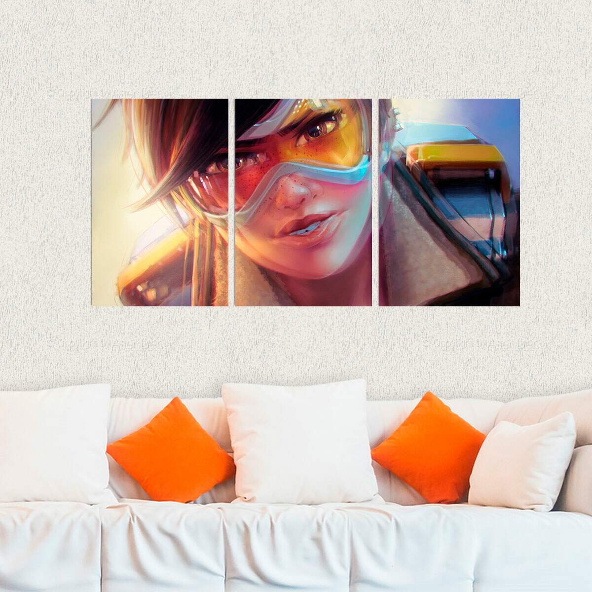 Kit 3 Placas Decorativas Games Overwatch 7