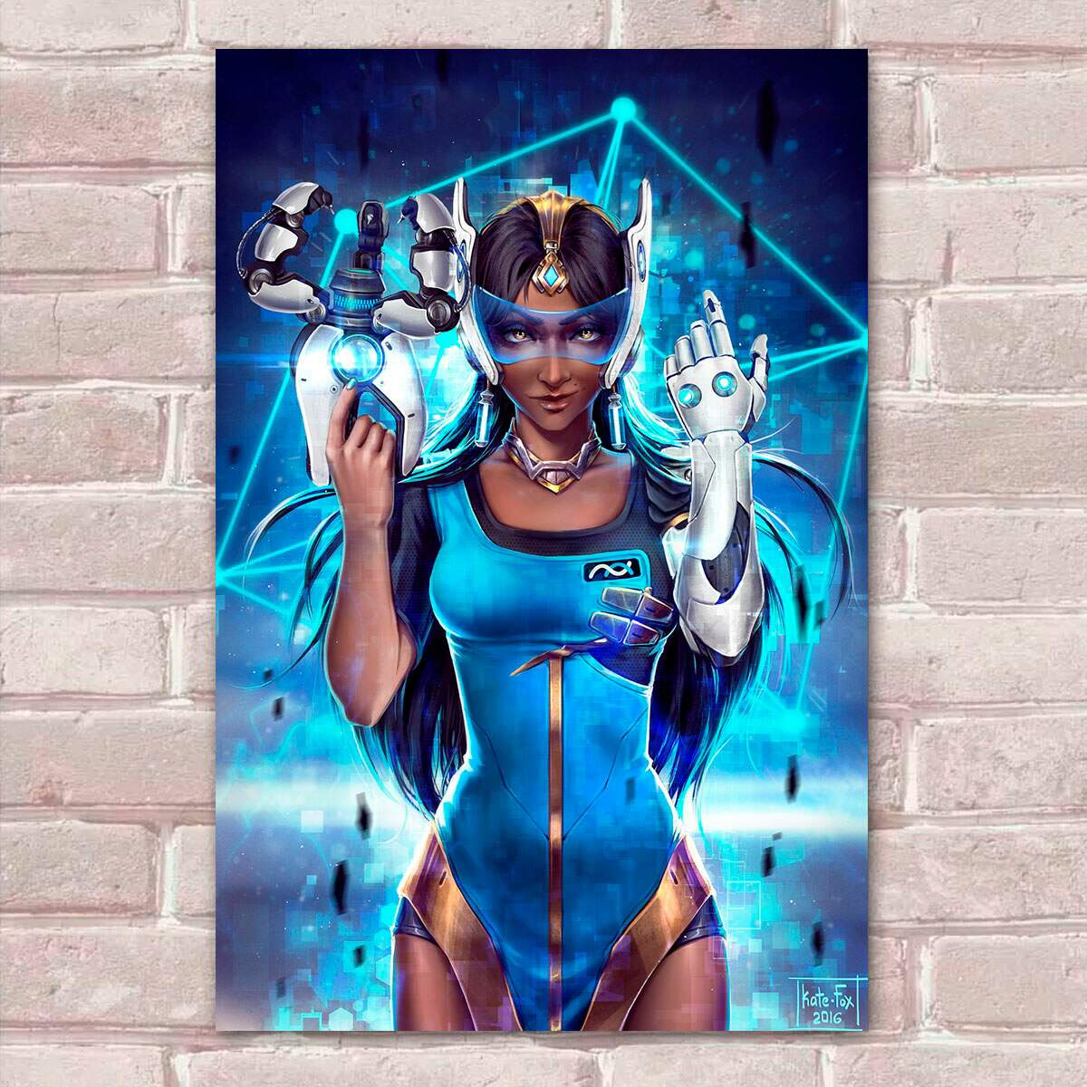 Placa Decorativa Overwatch 27