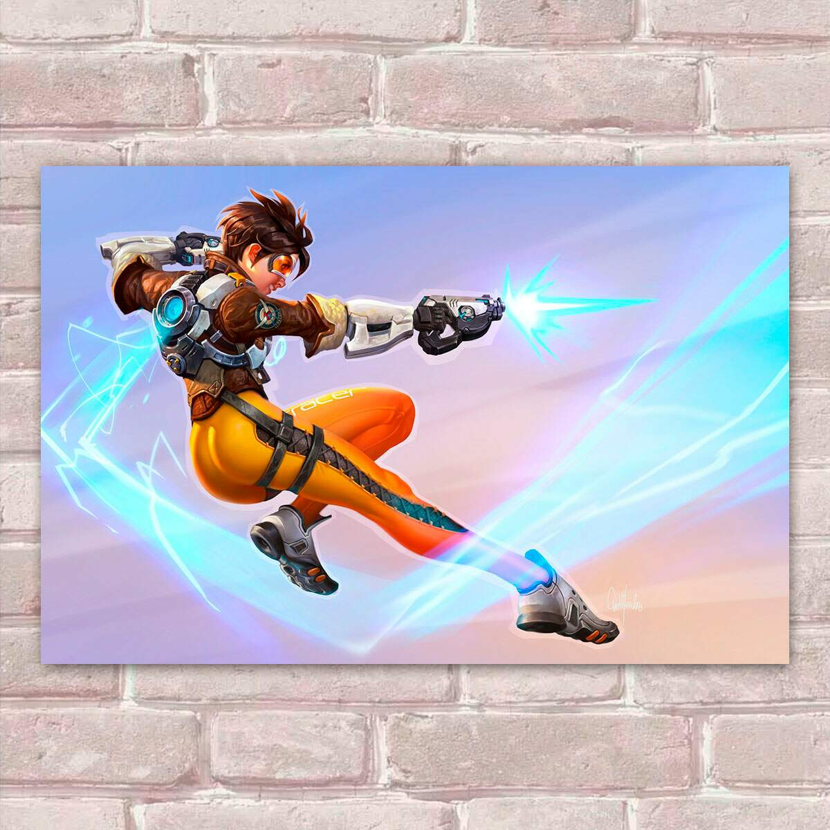 Placa Decorativa Overwatch 86