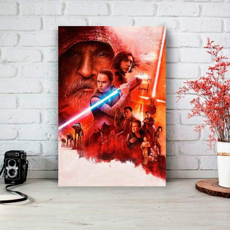 Placa Decorativa Star Wars Despertar