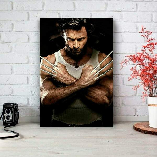 Placa Decorativa Logan Wolverine