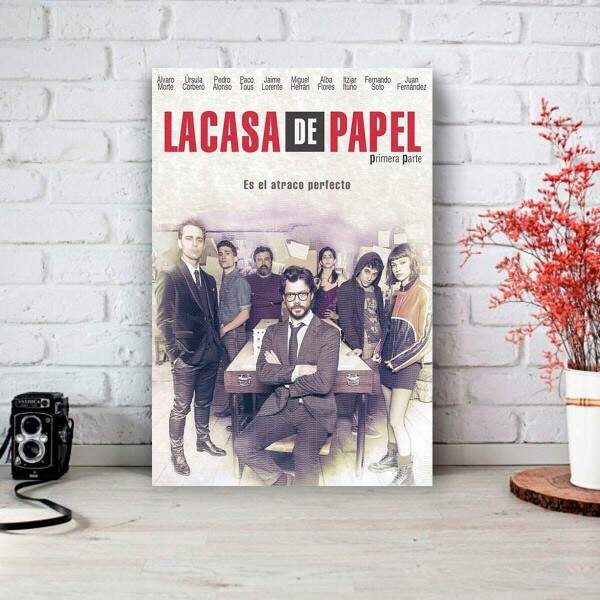 Placa Decorativa La Casa de Papel