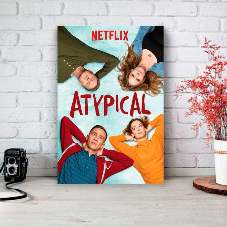 Placa Decorativa Série Atypical 2