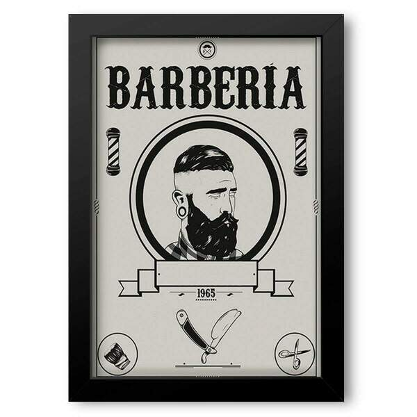 Quadro Decorativo Barbearia 3
