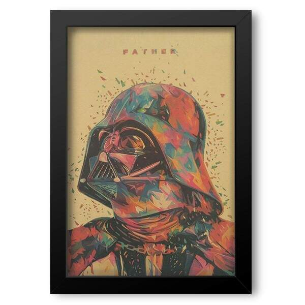 Quadro Decorativo Star Wars Darth Vader Pop Art