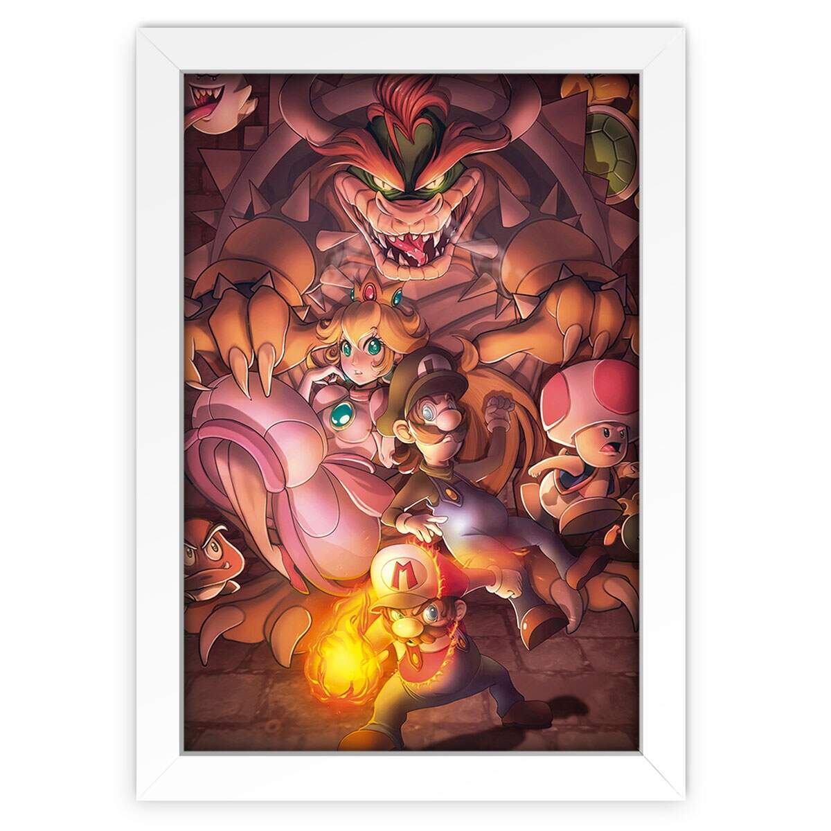 Quadro Decorativo Games Mario 03