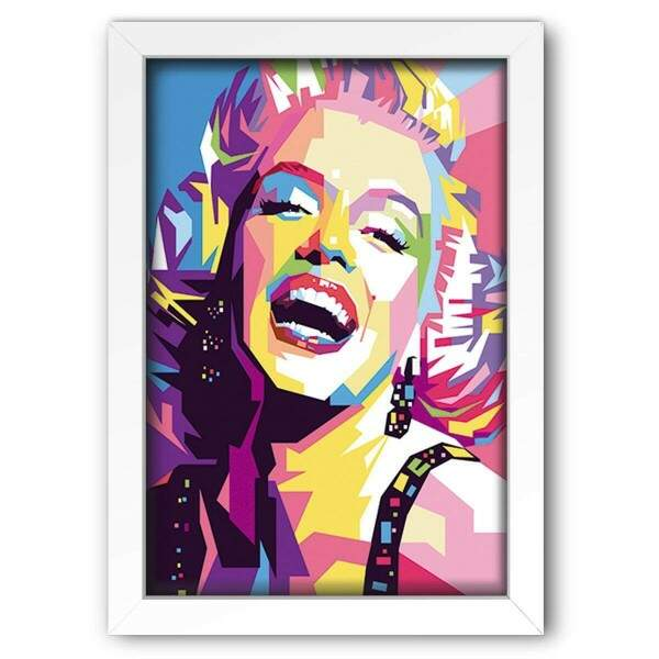 Quadro Decorativo Marilyn Monroe Fan Art