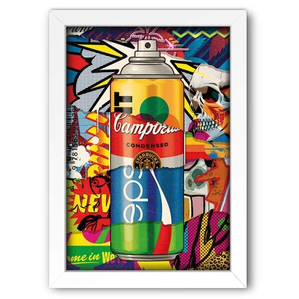 Quadro Decorativo Pop Art Abstrato 02