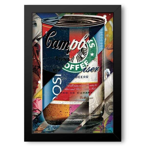 Quadro Decorativo Pop Art Campbell Soup