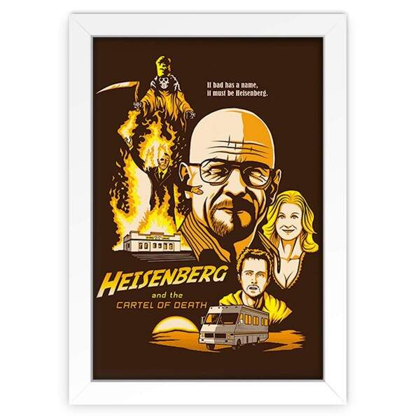 Quadro Decorativo Breaking Bad Heisenberg