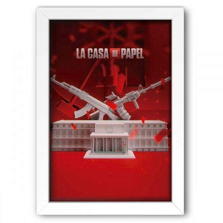 Quadro Decorativo La Casa de Papel 2