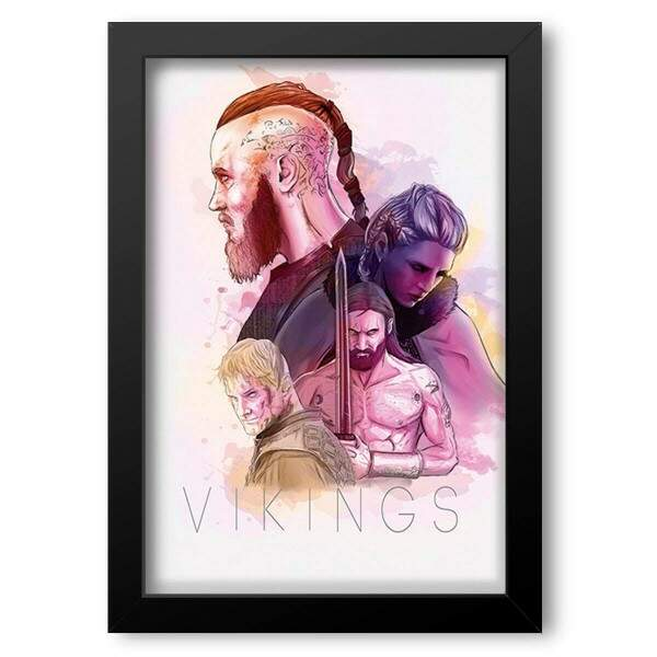 Quadro Decorativo Vikings Ragnar 2