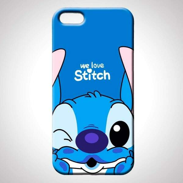 Capa para Celular Lilo e Stitch We Love