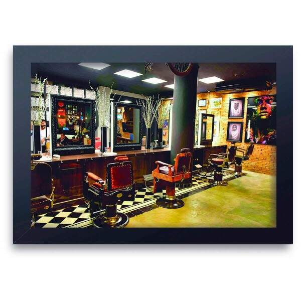 Quadro Decorativo Barbearia 02