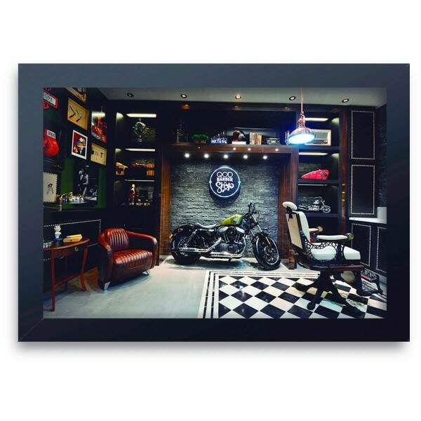 Quadro Decorativo Barbearia 07