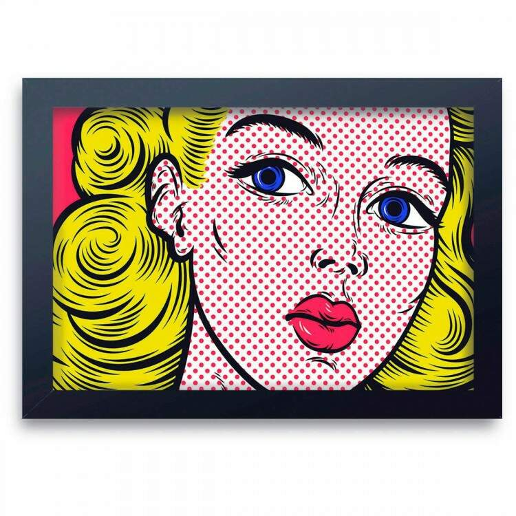 Quadro Decorativo Pop Art 02