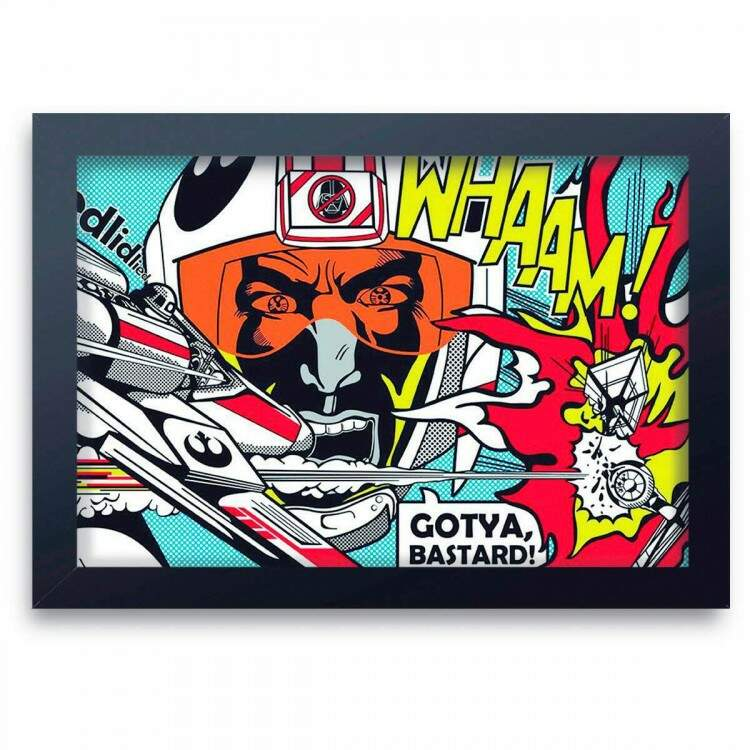Quadro Decorativo Pop Art 08