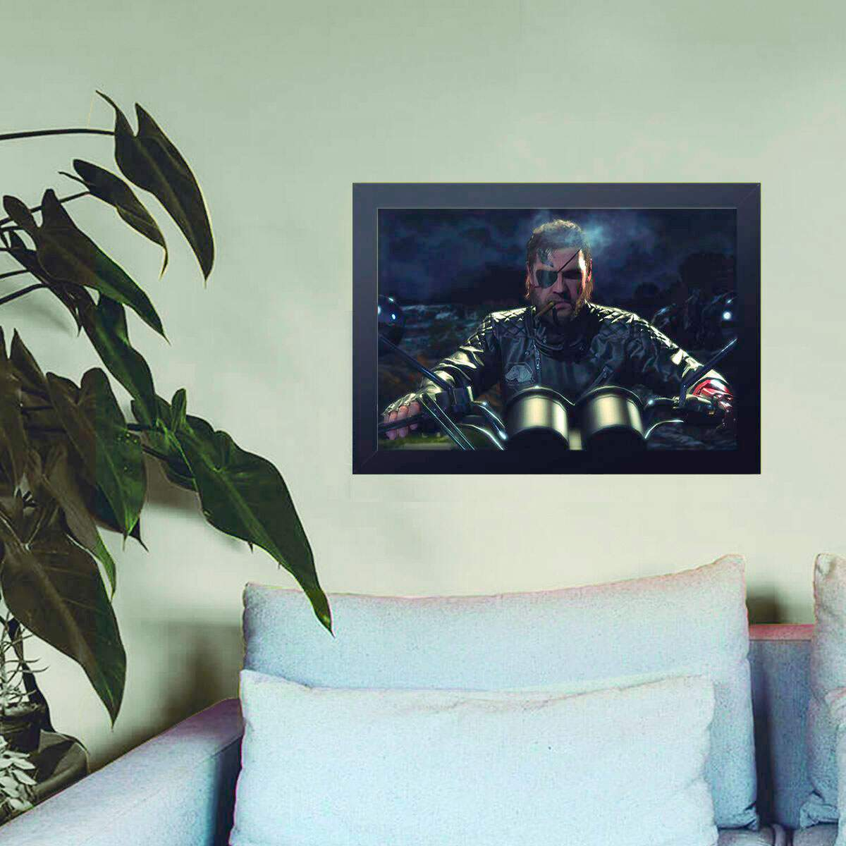 Quadro Decorativo Metal Gear 01