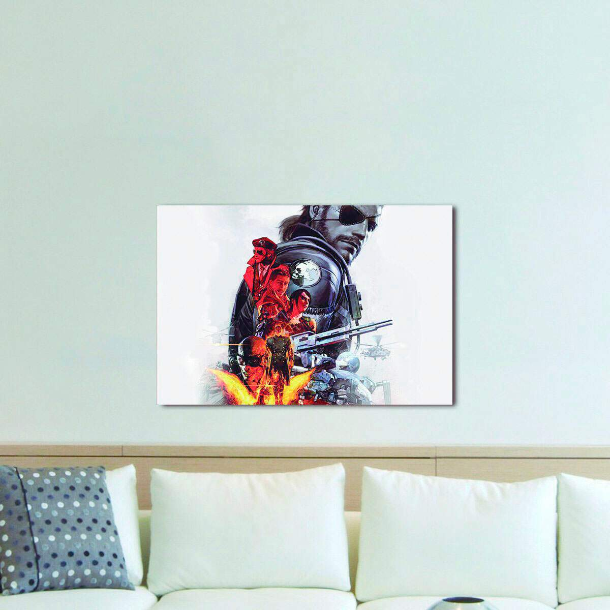 Quadro Decorativo Metal Gear 04