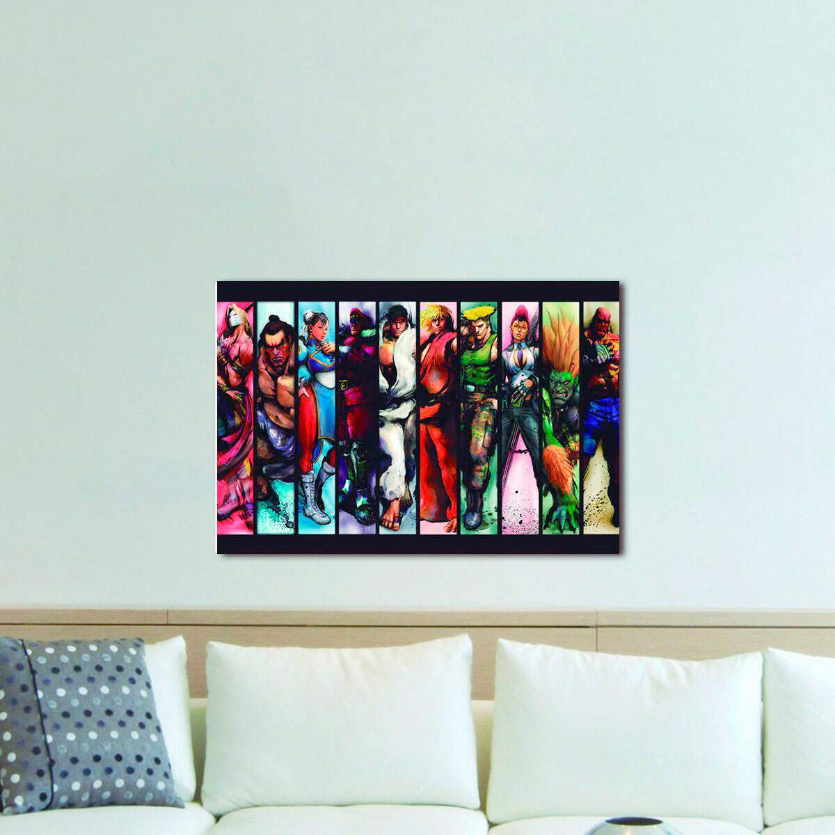 Quadro Decorativo Street Fighter 06