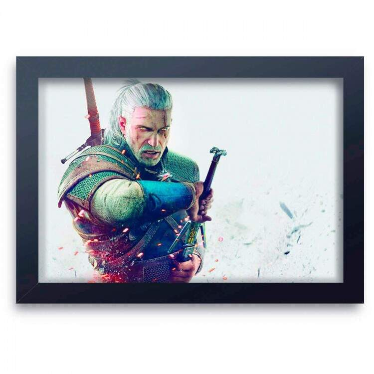 Quadro Decorativo The Witcher 07