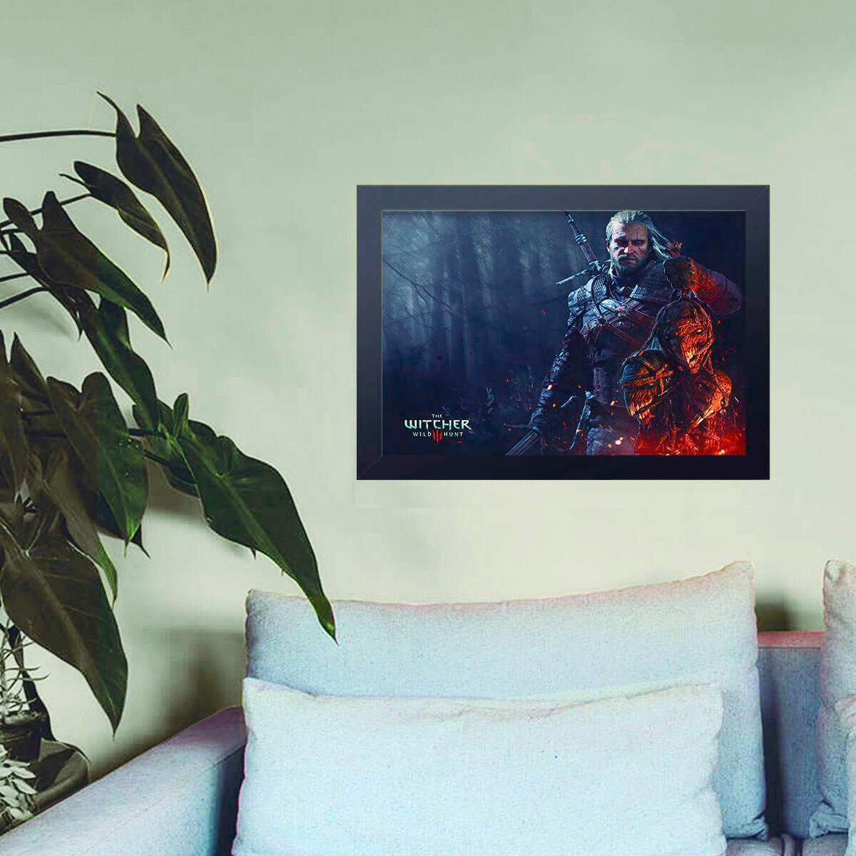 Quadro Decorativo The Witcher 13