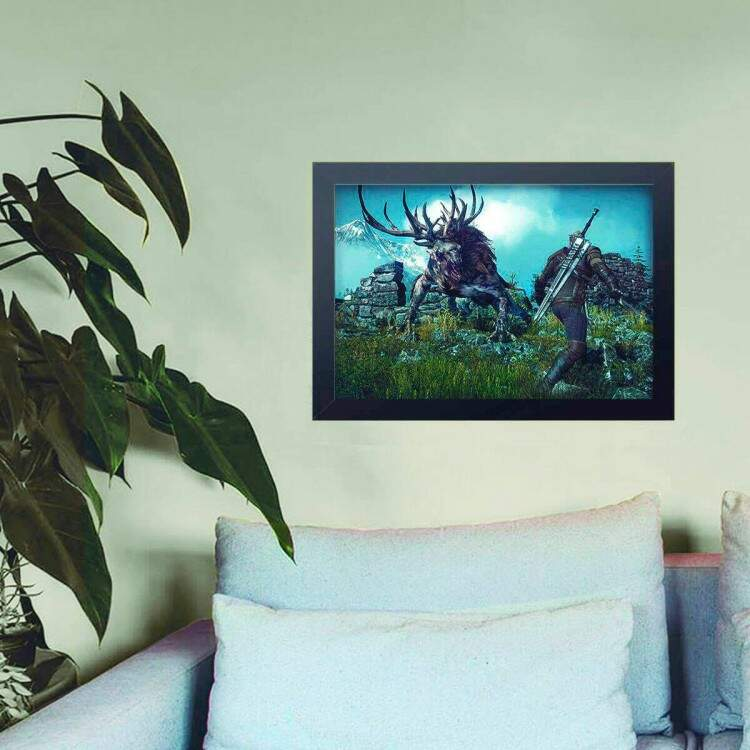 Quadro Decorativo The Witcher 14
