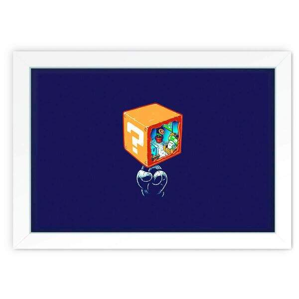 Quadro Decorativo Geek 08