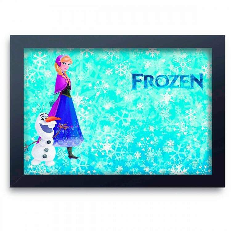 Quadro Decorativo Infantil Frozen 07