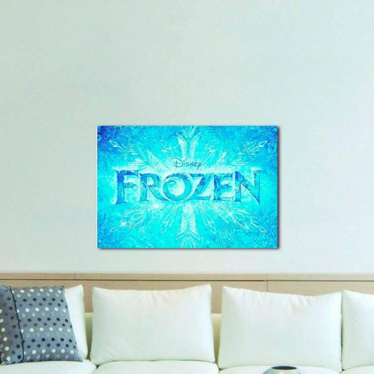 Quadro Decorativo Infantil Frozen 08
