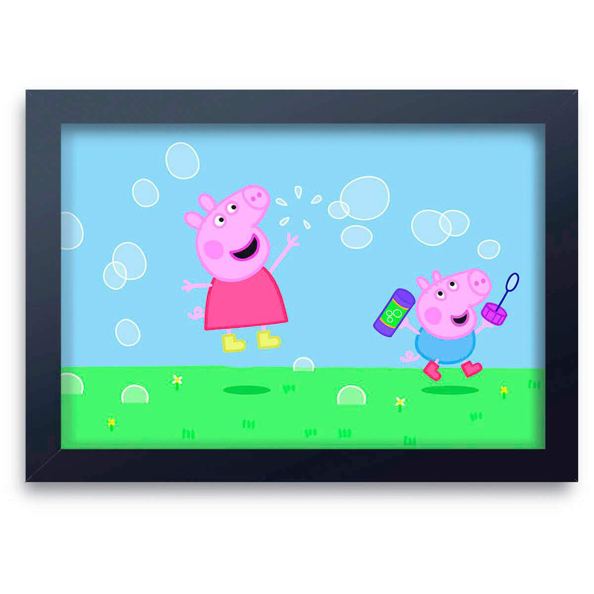 Quadro Decorativo Infantil Peppa Pig 08