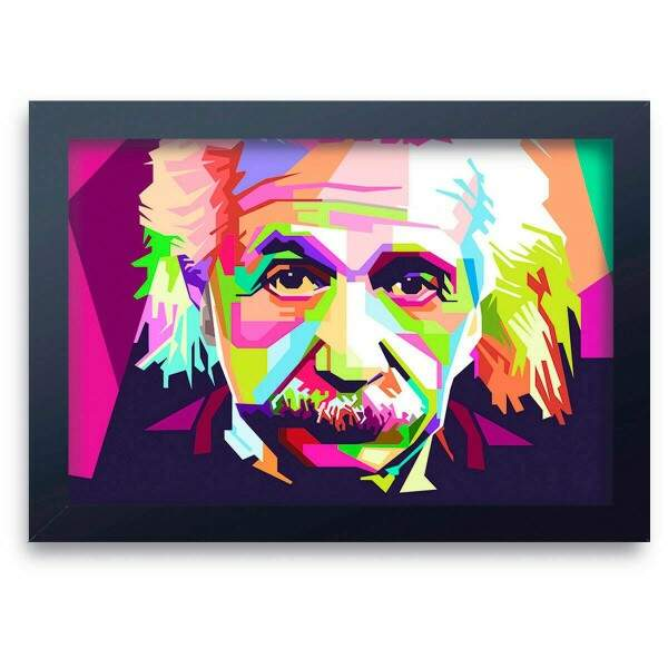 Quadro Decorativo Albert Einstein 01