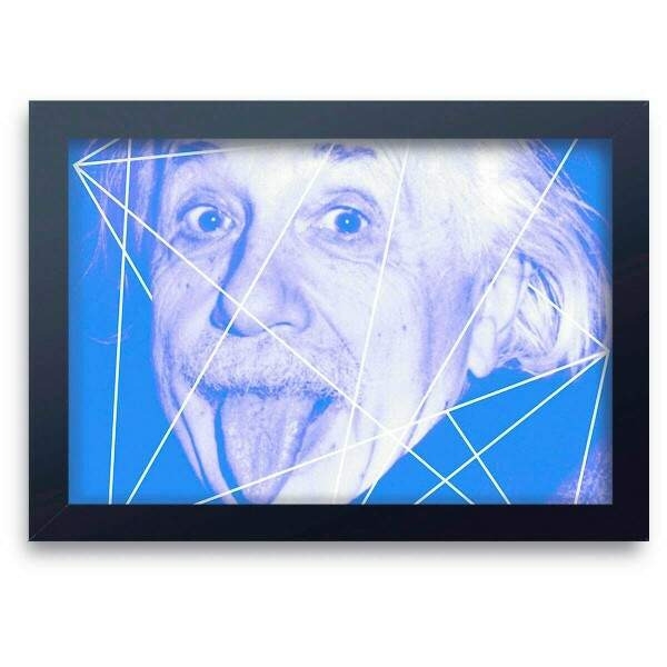 Quadro Decorativo Albert Einstein 04