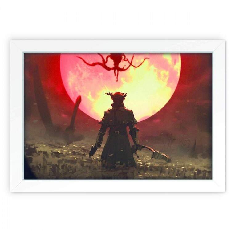 Quadro Decorativo Bloodborne 01
