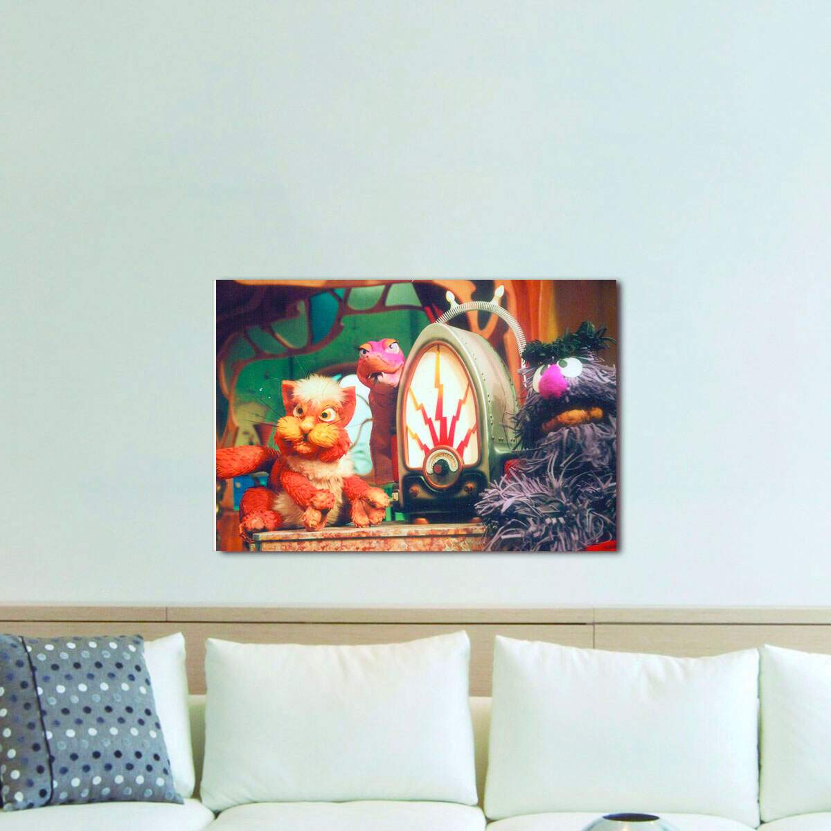 Quadro Decorativo Castelo Ra Tim Bum 02