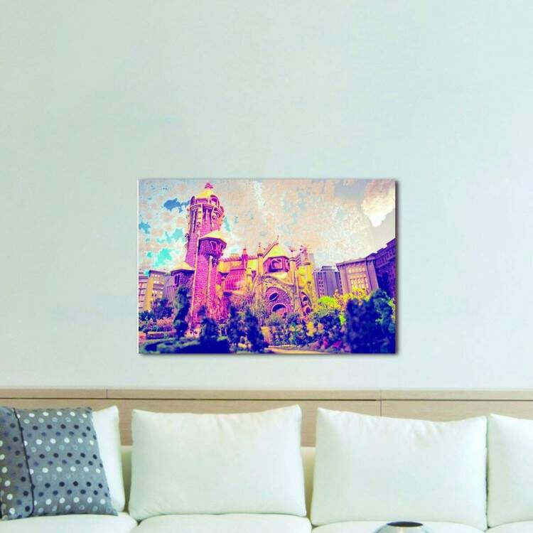 Quadro Decorativo Castelo Ra Tim Bum 06