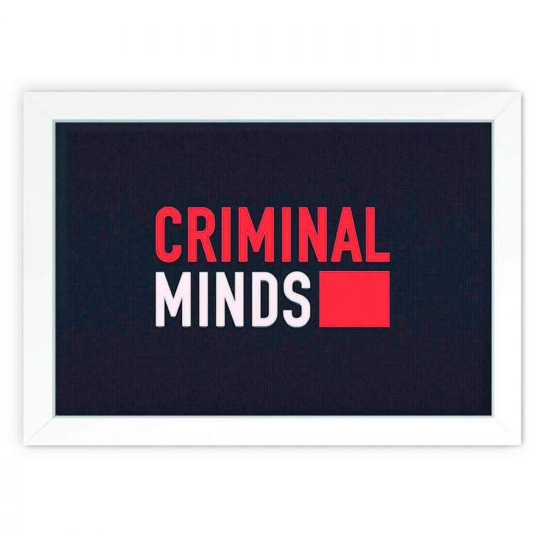 Quadro Decorativo Criminal Minds 03